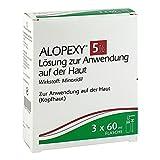 Alopexy 5% Lösung zur Anwendung auf der Haut mit Minoxidil