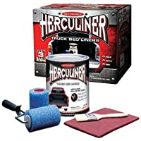$73 Get Herculiner HCL1B8 Brush-on Bed Liner Kit