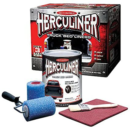 Amazon herculiner hcl1b8 brush on bed liner kit automotive herculiner hcl1b8 brush on bed liner kit solutioingenieria Image collections
