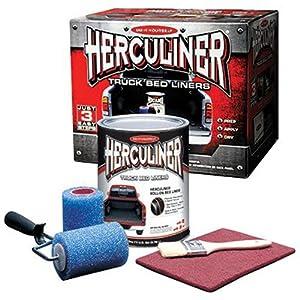 Amazon Com Herculiner Hcl1b8 Brush On Bed Liner Kit