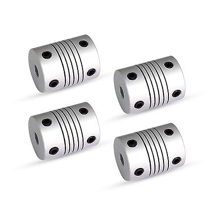 Impresora 3D Anet acoplamiento del eje flexible del acoplador 5 mm ...
