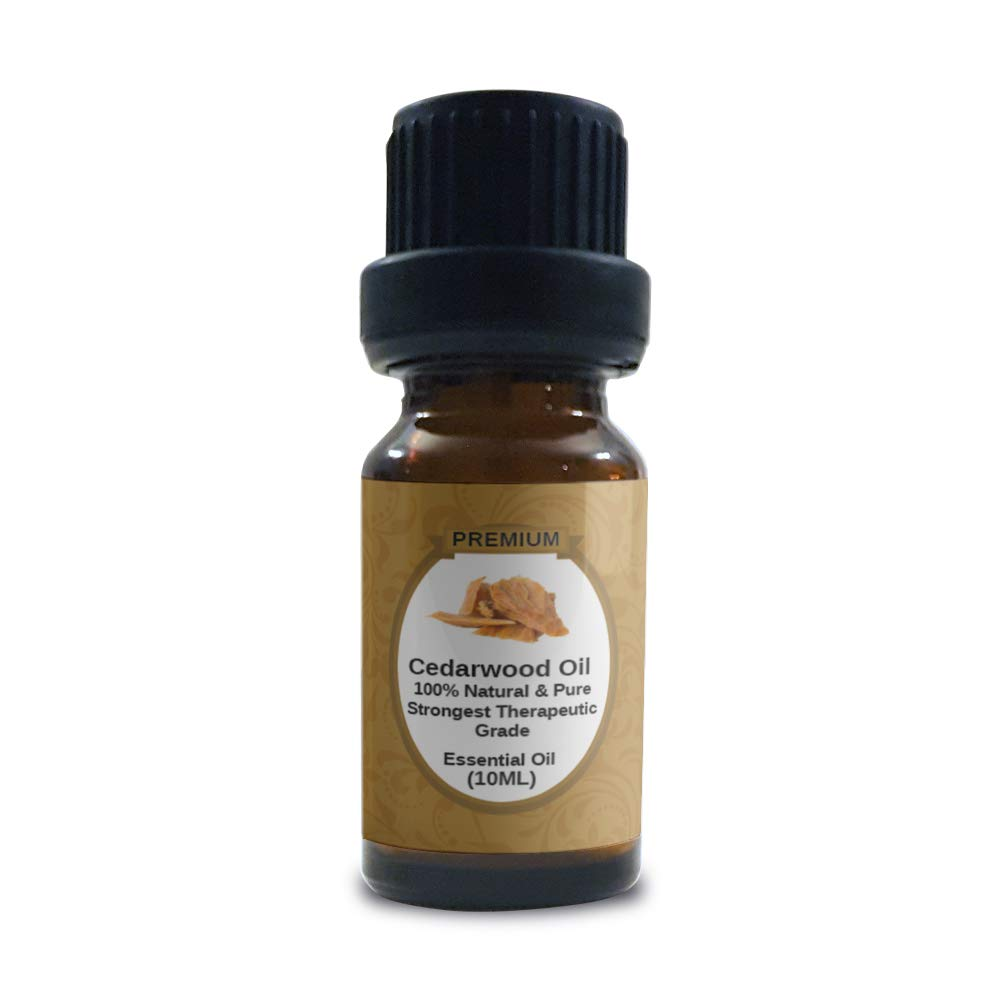 Cedarwood Essential Oil  100% Pure,Natural & Organic   Texas Cedar Oil   Undiluted   Perfect for Relaxation   Aromatherapy   Diffusers Dry Hair   Dry Skin   Therapeutic Grade   10ml