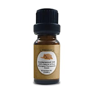 Cedarwood Essential Oil |100% Pure,Natural & Organic | Texas Cedar Oil | Undiluted | Perfect for Relaxation | Aromatherapy | Diffusers Dry Hair | Dry Skin | Therapeutic Grade | 10ml