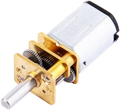 GA12-N20 DC12V 300RPM Motor de reducci/ón de velocidad DC con caja de cambios de metal