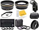 58mm Camera Accessory Bundle Kit For Olympus Evolt E-620 E-600 E-520 E-510 E-500 E-450 E-420 E-410 E-400 E-330 E-300 E-5 E-3