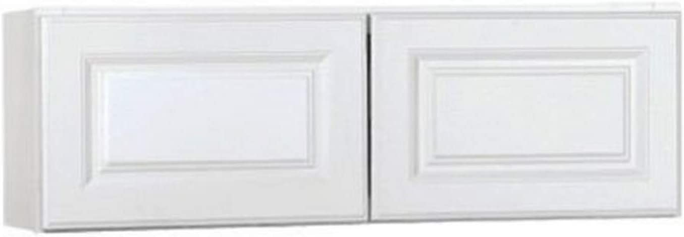 """Rsi Home Products Sales 36"""" W H X 12"""" D White Finish Assembled Wall Cabinet, 12"""" by 12"""""""