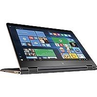 HP Spectre x360 15.6 Inch Convertible Laptop (2.7 GHz Intel Core i7-7500U, 16 GB SDRAM, 512 GB SSD, Windows 10 Home 64), Dark Ash Silver