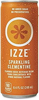 24-Pack IZZE Sparkling Juice Clementine 8.4-Ounce Cans