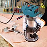 6.5-Amp Wood Router Tool, 1.25 HP Compact Trim