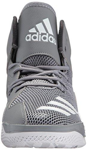 adidas Performance Herren DT Bball Mid Basketballschuh Grau / Weiß / Dgh Solid Grey