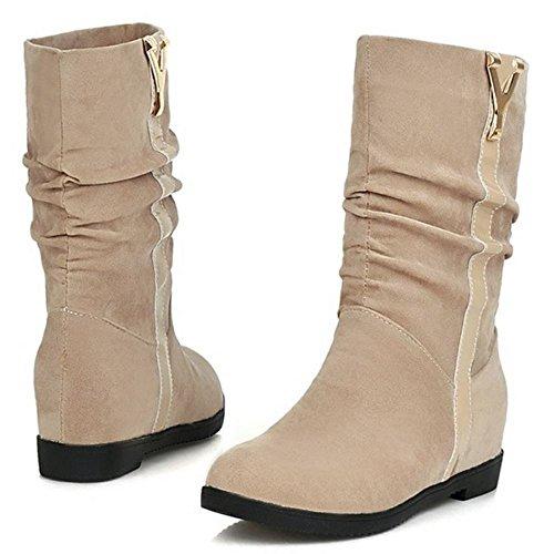 On Women Boots Pull Hidden COOLCEPT Beige 2 Heel dXgwUUPq