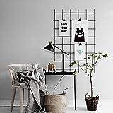 Kufox Wire Wall Gird Panel, Frameless Inspirational
