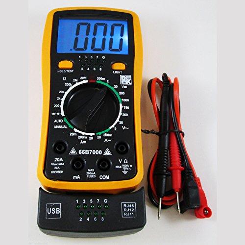 BK 66B7000 Professional Digital Multimeter & Network Cable Tester