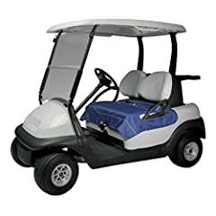 Unzip this attractive Golf Seat Blanket by Classic Accessories and you'll have instant protection from cold, damp or dirty golf car seats. Its reversible quilted design features fashionable navy water-resistant fabric on one side and plush fl...