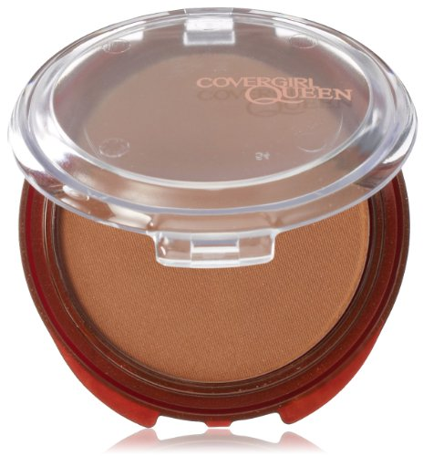CoverGirl Queen Collection Natural Hue Mineral Bronzer light bronze 100, 0.39-Ounce Pan (Pack of 2)