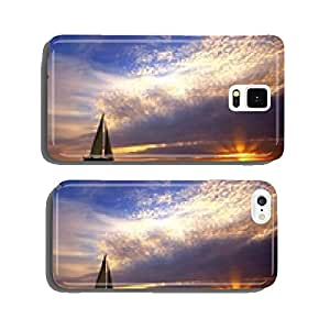 sailing and sunset cell phone cover case iPhone6 Plus