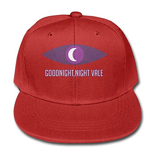 welcome-to-night-vale-cotton-baseball-cap-boys-girls-snapback-hip-hop-flat-hat-red