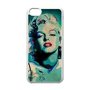 Fggcc Zombie Marilyn Monroe Protective Case for Iphone 5C,Zombie Marilyn Monroe Iphone 5C Case Cover (pattern 3)