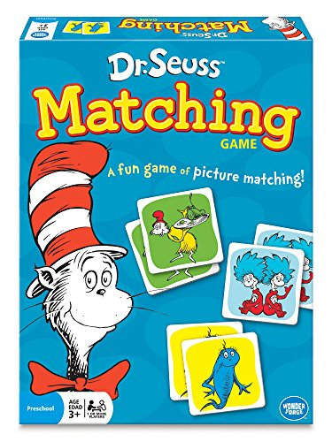 Wonder Forge Dr. Seuss Matching Game For Boys & Girls Age 3 & Up – A Fun & Fast Whimsical Memory Game