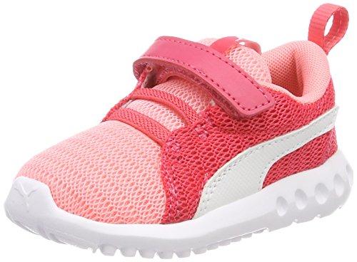 Puma Carson 2 V Inf, Zapatillas Unisex Niños Rosa (Soft Fluo Peach-puma White)