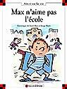 Max n'aime pas l'école par Saint-Mars