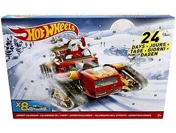 Calendrier De L Avent Voiture.Hot Wheels Mattel Calendrier De L Avent 8 Voitures Et