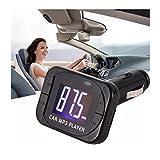 Iuhan® Fashion MP3 Player Wireless FM Transmitter Modulator Car Kit USB SD MMC LCD Remote
