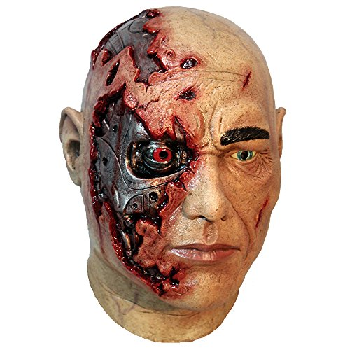 Ghoulish Masks Adult Cyborg Halloween Latex Mask -
