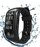 S908 Waterproof Running Watch With Heart Rate Sleep Monitor Sedentary Reminder Pedometer GPS Fitness Tracker Smart Bands for ios& Android Reviews