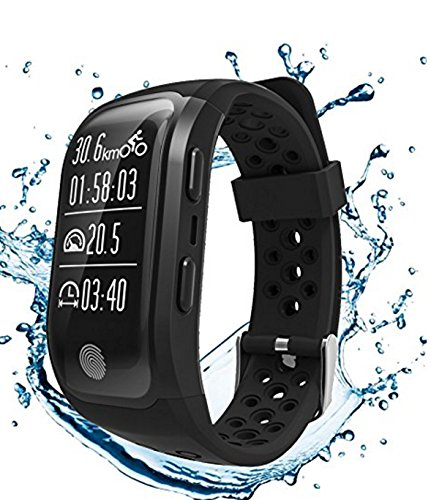 Waterproof Running Watch S908 With Heart Rate Sleep Monitor