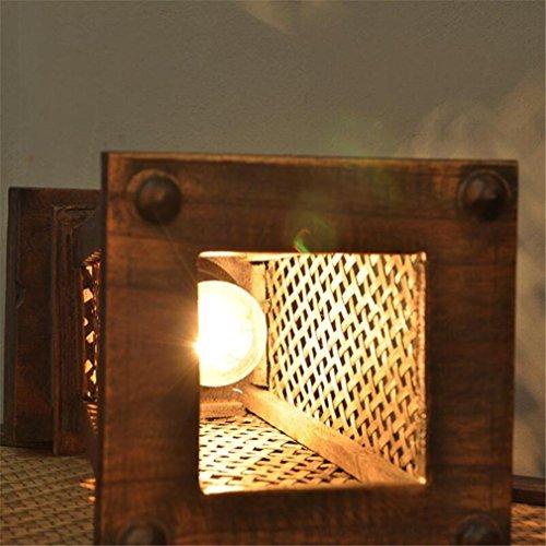 De Lucky Table Clover Lampe Tissage En Hôtel Bois Massif Thaï A mPwOv0yN8n