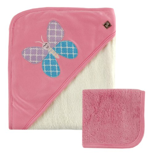 Hudson Baby Bamboo Hooded Washcloth product image