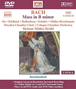 Mass in B Minor Dvda (DVD Audio)
