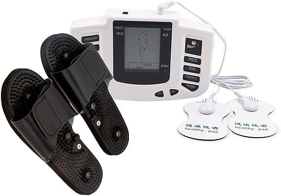 Aparelho Fisio Tens Fes e Par de Chinelos Acupuntura Fisioterapia Relaxamento Muscular: Amazon.com.br: Saúde e Cuidados Pessoais