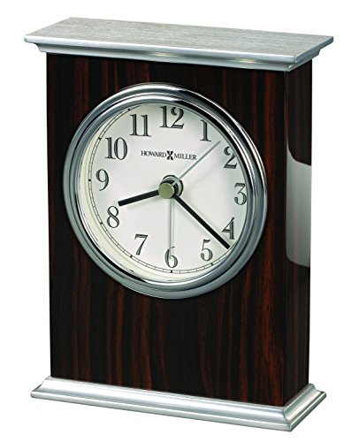 Ebony Tabletop Clock - 9
