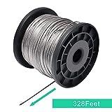 REKOBON 1/16 Wire rope, 304 Stainless Steel Wire