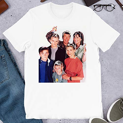 Malcolm in The Middle Tv 90s Nostalgia Wavves Grunge Punk The Simpsons Gift for Men Women Girls Unisex T-Shirt Hoodie (White-3XL) (The Mom From Malcolm In The Middle)