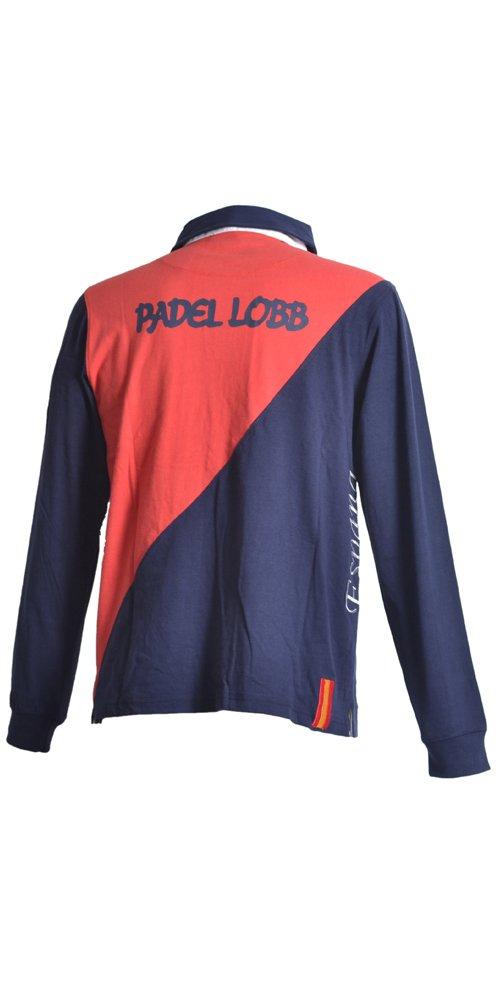 Padel Lobb - Polo estras, talla xxl , color rojo: Amazon.es: Deportes y aire libre