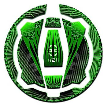 KODASKIN Gas Cap Fuel Tank Pad Sticker Protection for Fit for Kawasaki Ninja650