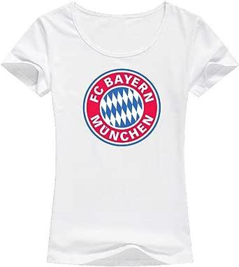 Bayern Munchen T-Shirt For Women, Size XXL, Color White