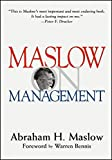 img - for Maslow on Management (Business) by Abraham Harold Maslow (1998-08-31) book / textbook / text book