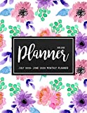 July 2019- June 2020 Monthly Planner: Two Year - Daily Weekly Monthly Calendar Planner For To do list Planners And Academic Agenda Schedule Organizer ... Design (July 2019-June 2020 Academic Planner)