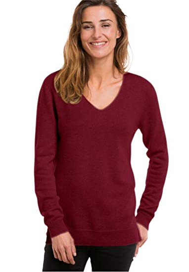 Woman Within Plus Size V Neck Cashmere Pullover Sweater At Amazon