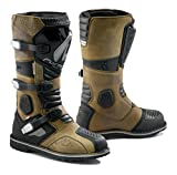 #10: Forma Terra Enduro Off-Road Motorcycle Boots (Brown, Size 10 US/Size 44 Euro)