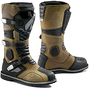 Forma Terra Enduro Off-Road Motorcycle Boots (Brown, Size 9 US/Size 43 Euro)