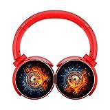 DNpni Fire Water Roulette Wireless Headset Stereo Heavy Bass On-Ear Bluetooth Headphone HIFI With Mic