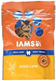 Iams Proactive Health Oral Care Chicken Flavor Daily Treats For Cats, 2.47 Oz