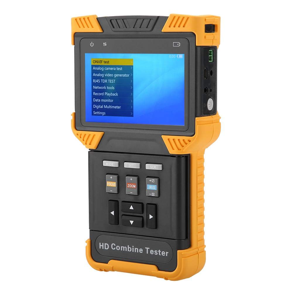 DT-T60 CCTV Tester 1080P IP Telecamera analogica Test HD Combina Tester AC100-240V EU Stecker controllo PTZ RS485