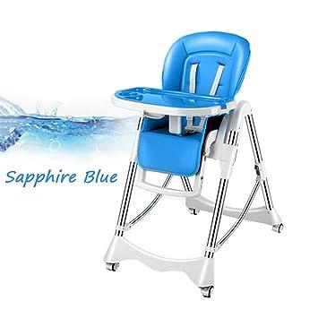 Vxcbndtjd Mesa Plegable para sillas de bebé con polea y ...