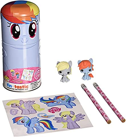 Funko My Little Pony Rainbow Dash Tin-Tastic Action Figure (Rainbow Dash Wall)